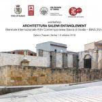 01/10/18 al 06/10/18 Architettura Salemi Entanglement