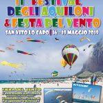 16/05/2019 – 19/05/2019 XI Festival Internazionale degli Aquiloni & Festa del Vento